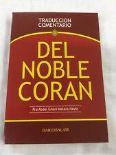 """Traduccion Comentario Del Noble Coran """"Quran"""""""