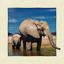 Elephant Love Lenticular 3D Picture Animal Poster Painting Home Wall Art Decor