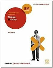 (10).(GM).TECNICA CONTABLE (+DVD) (GESTION ADMINISTRATIVA)