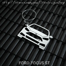 Ford Focus ST Stainless Steel Keychain