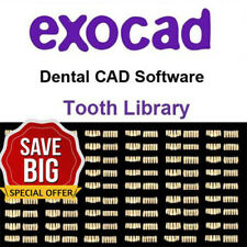 >>> 258 Tooth Teeth Libraries Exocad,Matera,Valletta <<<
