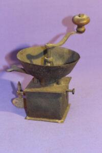 Kaffeemühle Trichter Barock Eisen  moulin a cafe coffee grinder *6595