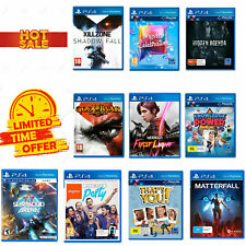 PS4 Games Ten Pack Sony PS4 Console Games Starblood God of War Singstar