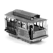 Fascinations Metal Earth 3D Laser Cut Steel Model Kit San Francisco SF Cable Car