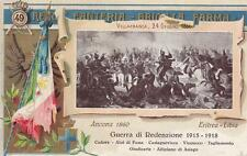 C447) MANTOVA, 49 REGGIMENTO FANTERIA GUERRA DI REDENZIONE 1915/18. VIAGGIATA.