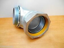 "HUBBELL RACO 3556 4"" LIQUID-TIGHT 90 DEG. CONNECTOR, INSULATED, NEW"