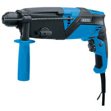 DRAPER 750W ROTARY SDS HAMMER DRILL 240V & CHISELS IN CASE WARRANTY