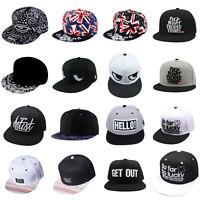 Unisex Fashion Baseball Rock Cap Hat Snapback Hip-Hop Hats Adjustable Men Cool