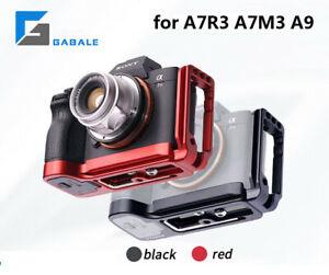 GABALE QR L Plate Bracket Camera Grip Camera Holder for Sony A7RIII A9 LCE-7RM3