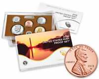 2019 S US Clad Proof Coin Set + 2019 W Proof Lincoln Cent Not sealed SKU57919