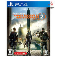 NEW PS4 The Division 2 Ubisoft Tom Clan PlayStation 4 import Japan F/S Tracking
