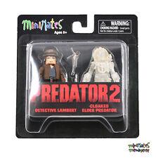 Predator Minimates Series 4 Detective Lambert & Cloaked Elder Predator