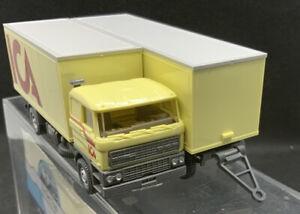 """WIKING: DAF Suitcase Road Train """" ICA """" Nr.29467 1:87 Germany BNIB Wagon & Drag"""