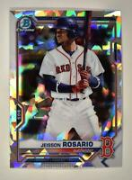 2021 Bowman Prospects Chrome Atomic #BCP-37 Jeisson Rosario - Boston Red Sox