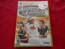 VIRTUA TENNIS 2009 XBOX 360 FACTORY SEALED!!!  NEXT DAY FREE SHIPPING!!!  L@@K!!
