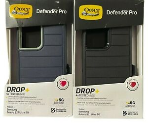 Otterbox Defender Pro Series Case + Holster for Samsung Galaxy S21 Ultra 5G Only