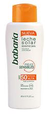 babaria Sonnenmilch sensitiv LSF50 200ml