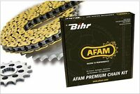Kit Chaîne Afam 520 Type Xhr2(Couronne Standard)Ducati Monster - STREETMOTORBIKE