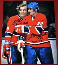 Nice Guy Lafleur Steve Shutt Dual Signed 8x10  Montreal Canadiens Photo !