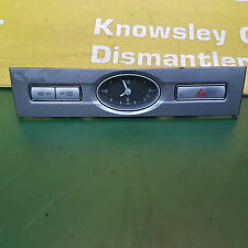 FORD MONDEO MK3 DASHBOARD CLOCK WITH HAZARD SWITCH PANEL 3S7T 15000 DA