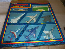 MATCHBOX SKYBUSTERS GIFT SET SB-814. RARE 8 PIECE. BOXED.