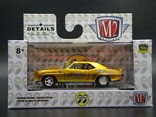 M2 MACHINES 1969 CHEVROLET CAMARO Z/28 RS MOON EQUIPPED S81 20-21 DIECAST CAR