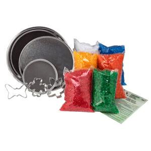 Schmelzgranulat Colouraplast Werkpackung Set Kunststoffgranulat Schmelzen