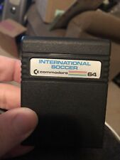 International Soccer game cartridge for the Commodore 64 / C64