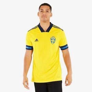 NEW Sweden 2020/2021 Home European Cup football shirt Adult