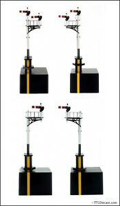 DAPOL 4L-001-0xx Junction and bracket Signal GWR, 4 variants - OO Gauge