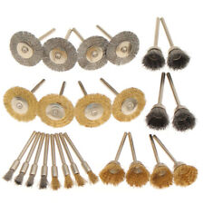 Mini Brass Wire Cup Wheel Polishing Brushes for Grinder Drill Rotary Vogue