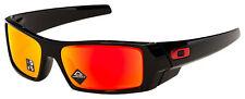 Oakley Gascan Sunglasses OO9014-4460 Polished Black   Prizm Ruby Lens