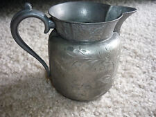 Beautiful Vintage Lenox Quadruple Plate Creamer/ Pitcher