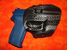 HOLSTER COMBO BLACK KYDEX SIG 226 MK25 With Rail and Double Mag Holster OWB