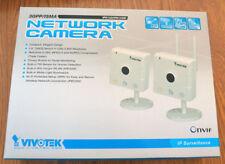 Vivotek IP8133W IP Wireless Network Security/Surveillance Camera Privacy Compact
