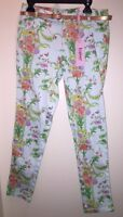 BAKER by TED BAKER Girls' Belted Floral Pants MULTI COLOR Size 12 NEW with Tags
