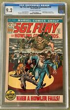 Sgt. Fury and His Howling Commandos #100 (1972) CGC 9.2 -- o/w to White pages