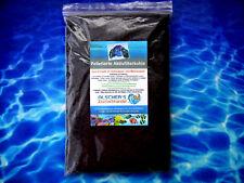 Aktivkohle 1kg Pelletierte Filterkohle Filtermaterial + Entgifter für Salzwasser