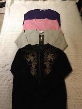 Bundle Bulk Vintage Retro Women Knit Sweaters Jumpers Wool S-L
