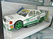 MERCEDES BENZ 190E 190 2.5-16V Evo 2 DTM #20 Schumacher 1991 debis Solido 1:18