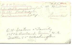 DUTCH INDIES NED INDIE 1945-09-14 - POW CV RED CROSS WITH LETTER INSITE-- F/VF
