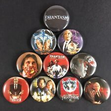 "Phantasm 1"" Button Pin Set Don Coscarelli Horror Film Classic"