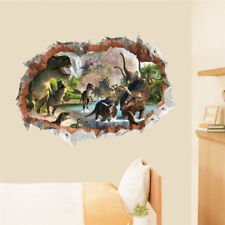 3D Dinosaurs Wall Sticker Decal Art Decor Vinyl Home Room Window Door Mural Dec