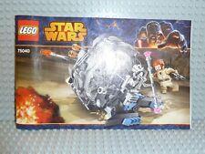 LEGO® Star Wars Bauanleitung 75040 General Grievous Wheel ungelocht BA Anleitung
