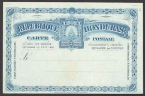 Honduras early postal stationery collection (17 items)