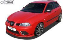 RDX Spoilerlippe für Seat Ibiza 6L FR Facelift AB 06 Ansatz Schwert Front Lippe