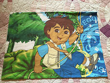 DIEGO Dora the Explorer Fabric Pillowcase - Quilting Sewing Material