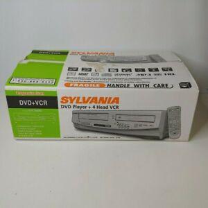 Sylvania DVC840G Progressive Scan DVD 4-Head VCR Combo Stereo Video Recorder