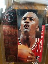 1995 Michael Jordan Upper Deck SP Championship Series Die Cut #4 Chicago Bulls