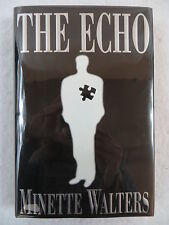 Minette Walters THE ECHO 1st Edition SIGNED G.P. Putnam's Sons 1997